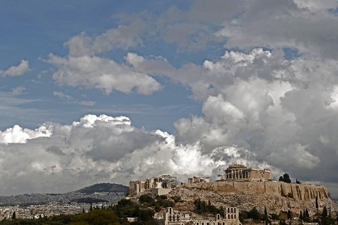 Ο λόφος της Ακρόπολης με τον παρθενώνα και το Ωδείο Ηρώδου Αττικού, Τρίτη 12 Νοεμβρίου 2013. ΑΠΕ-ΜΠΕ/ΑΠΕ-ΜΠΕ/ΑΛΕΞΑΝΔΡΟΣ ΒΛΑΧΟΣ
