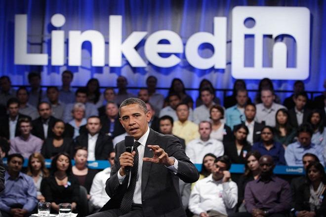 Γιατί ο Ομπάμα θα εγγραφεί στο LinkedIn