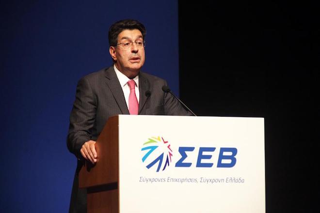Δέσμη πέντε μέτρων για την ανάκαμψη της βιομηχανίας προτείνει ο ΣΕΒ