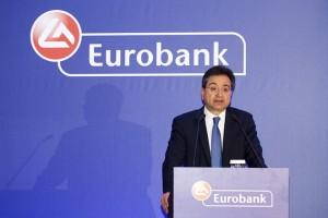 Ο Διευθύνων Σύμβουλος της Eurobank  Φωκίων Καραβίας μιλάει κατά τη διάρκεια της γενικής Συνέλευσης των μετόχων της τράπεζας, την  Τετάρτη 15 Ιουνίου 2016.  ΑΠΕ- ΜΠΕ/ EUROBANK/ ΘΑΝΑΣΗΣ ΑΝΑΓΝΩΣΤΟΠΟΥΛΟΣ