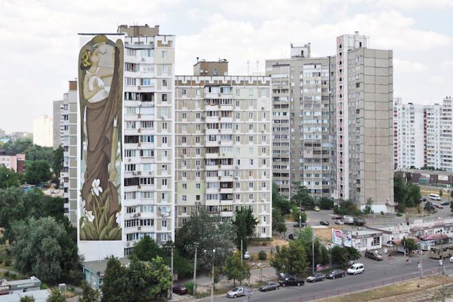 Έργο Έλληνα στο Κίεβο η μεγαλύτερη τοιχογραφία στην ιστορία της ελληνικής τέχνης!
