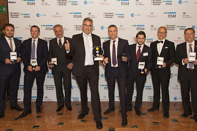ΒΙΚΟΣ: Η ισχυρότερη ελληνική εταιρεία στην Ευρώπη στα European Business Awards