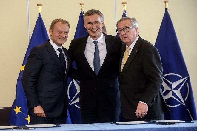 Αναβαθμίζονται οι σχέσεις μεταξύ ΝΑΤΟ και ΕΕ