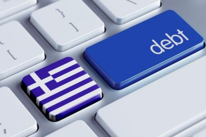 Greece Debt Concept