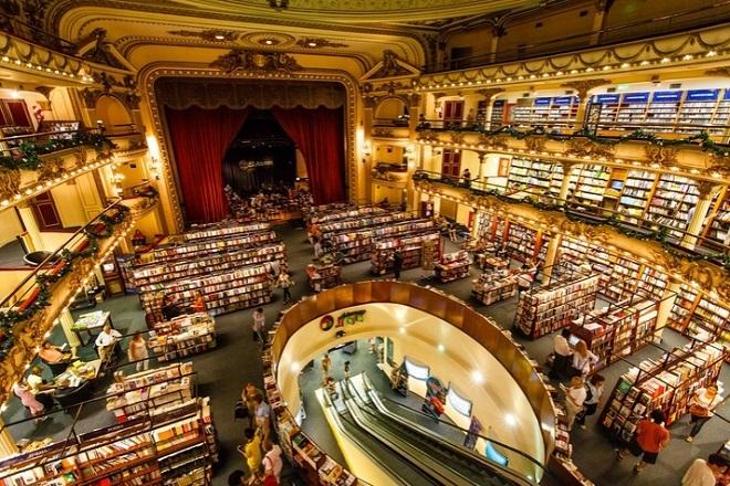 Ένα από τα ωραιότερα βιβλιοπωλεία του κόσμου