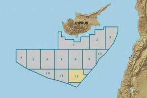 Ο χάρτης με τα οικόπεδα της κυπριακής ΑΟΖ, Παρασκευή 11 Μαϊου 2012. Στο 12 γίνεται γεώτρηση από την εταιρεία «ΝOBLE». Ενδιαφέρον για τα οικόπεδα 5και 6 , αλλά και 4 της κυπριακής ΑΟΖ, σύμφωνα με πληροφορίες του ΑΠΕ. Και Ελληνική εταιρεία πίσω από ξένη κοινοπραξία. ΑΠΕ ΜΠΕ/ΑΠΕ ΜΠΕ/STR