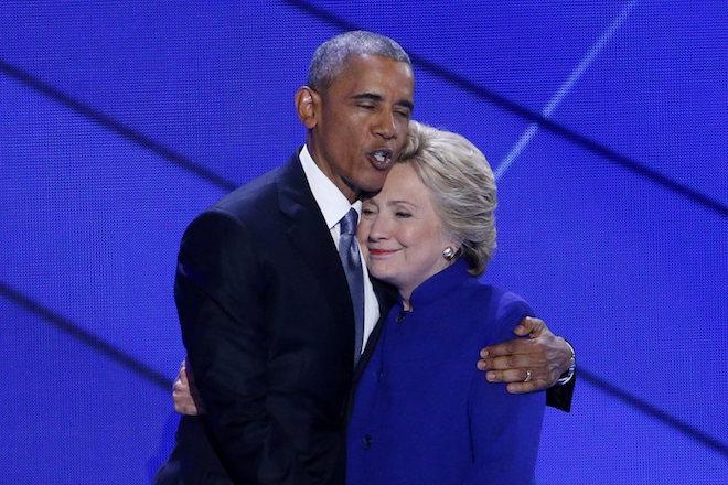 Ομπάμα: Με αγαπάτε; Ψηφίστε Χίλαρι!