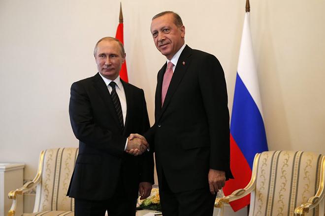 Τετ- α- τετ Πούτιν με Ερντογάν για συνεργασίες στον τομέα της ενέργειας