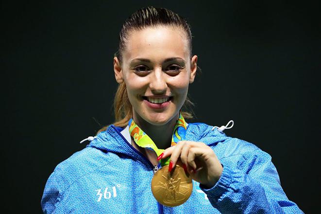 Χρυσή Ολυμπιονίκης η Άννα Κορακάκη!