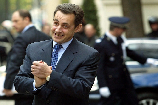 Επίσημα υποψήφιος για τις προεδρικές εκλογές  2017 ο Νικολά Σαρκοζί