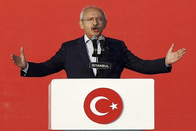 Eπίθεση κατά του ηγέτη της αξιωματικής αντιπολίτευσης της Τουρκίας