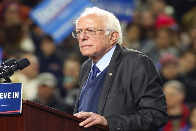 Υποψήφιος για το χρίσμα των Δημοκρατικών για τις προεδρικές του 2020 ο Μπέρνι Σάντερς