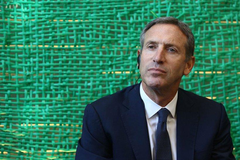 Ο ηγέτης των Starbucks αποκάλυψε ποιον θέλει για πρόεδρο στις ΗΠΑ