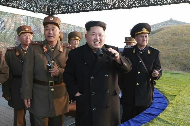 Πολλαπλή εκτόξευση πυραύλων από τη Βόρεια Κορέα