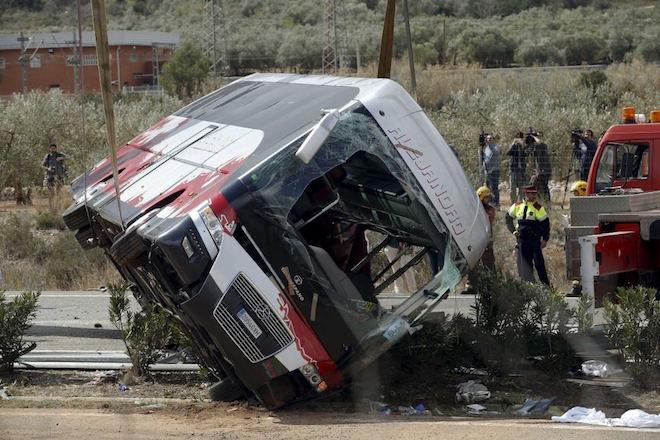 Ισπανία: Ατύχημα με τουριστικό λεωφορείο στη Βαρκελώνη – 24 τραυματίες