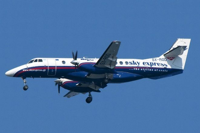 Εκτός διαδρόμου βρέθηκε αεροσκάφος της Sky Express στη Νάξο – Δεν υπάρχουν τραυματίες