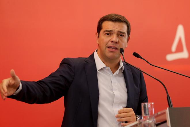 Ο Πρόεδρος του ΣΥΡΙΖΑ Αλέξης Τσίπρας  μιλά στην συνεδρίαση της Κεντρικής Επιτροπής του κόμματος του , Κυριακή 18 Σεπτεμβρίου 2016. Συνεδριάζει για δεύτερη ημέρα η Κεντρική Επιτροπή του ΣΥΡΙΖΑ  σε κεντρικό ξενοδοχείο με θέμα το δεύτερο συνέδριο του κόμματος. ΑΠΕ-ΜΠΕ/ΑΠΕ-ΜΠΕ/Παντελής Σαίτας