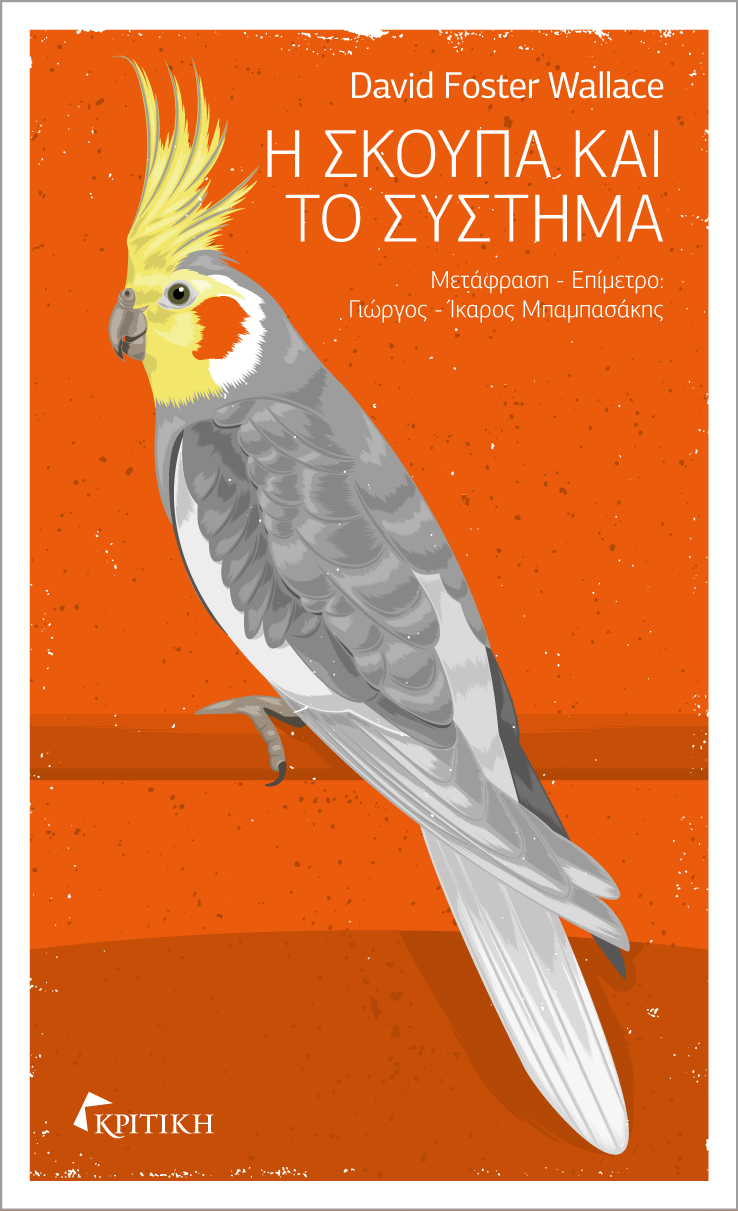 Η σκούπα και το σύστημα: Το πρώτο μυθιστόρημα του D. F. Wallace που έτυχε θερμής υποδοχής από αναγνωστικό κοινό και κριτικούς.
