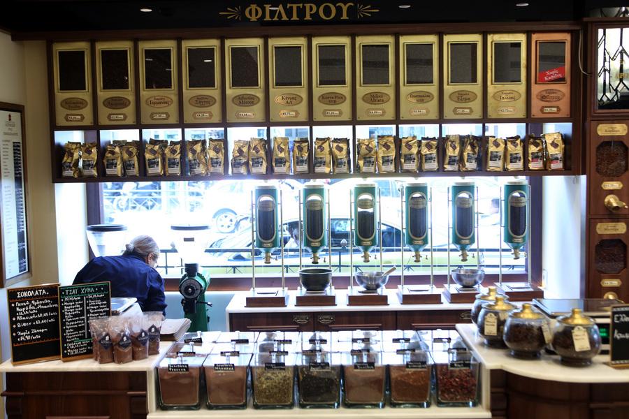 Άρωμα καφέ στην «καρδιά» της Αθήνας επί 84 χρόνια
