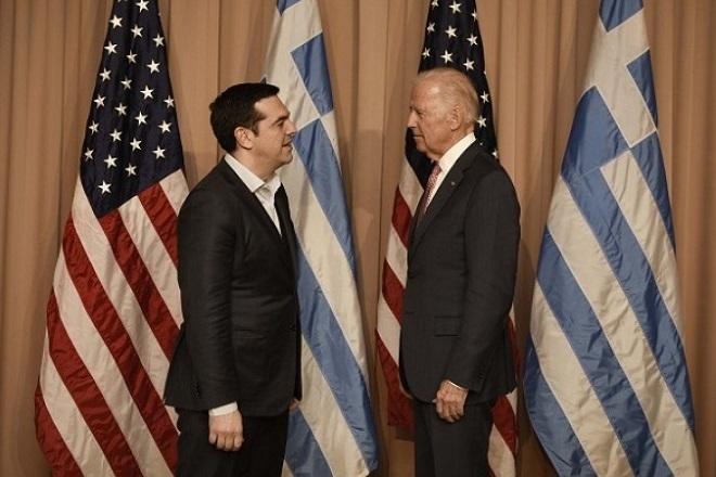 Τσίπρας σε Μπάιντεν: Η Ελλάδα χρειάζεται μια βιώσιμη λύση για το χρέος