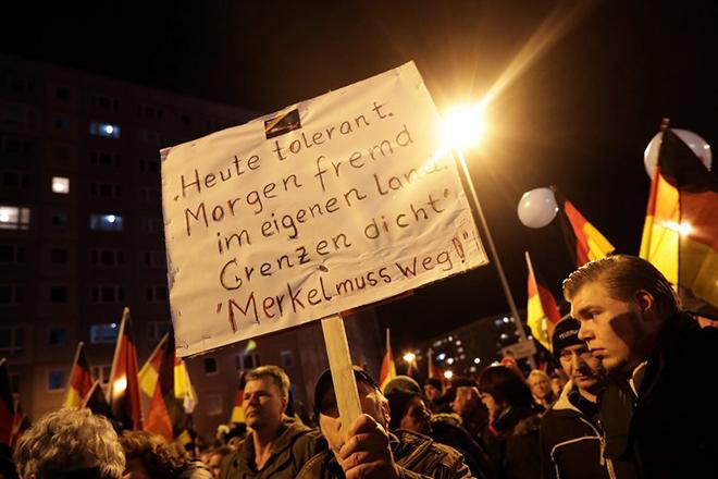 Έκρηξη των ξενοφοβικών επιθέσεων στη Γερμανία το 2016