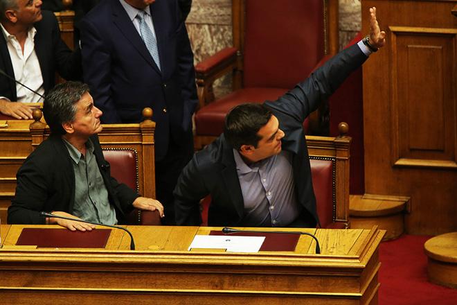 Η βουλή ενέκρινε με 152 «ναι» τα προαπαιτούμενα