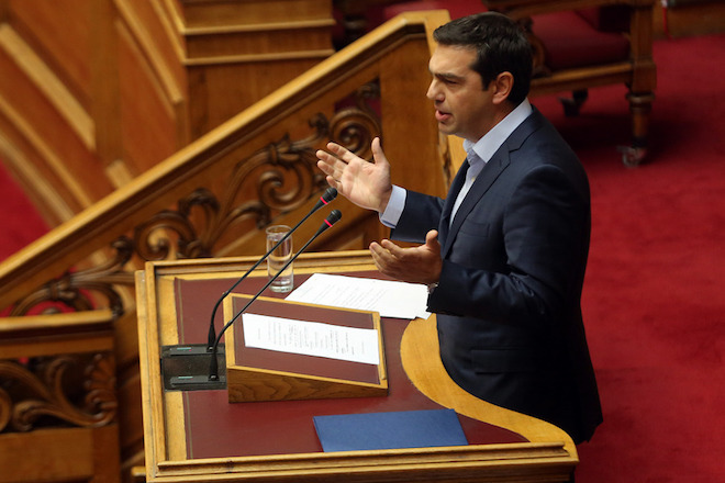 Προ ημερησίας συζήτηση για τη διαφθορά ζήτησε ο Αλέξης Τσίπρας