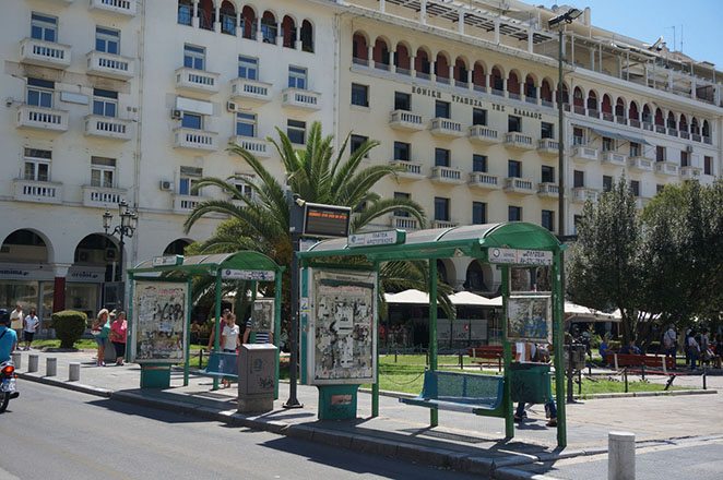 Ξανά στους δρόμους της Θεσσαλονίκης τα λεωφορεία του ΟΑΣΘ