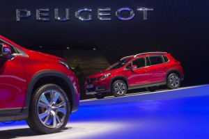 epa05189090 The New Peugeot 2008 GT Line is shown during the press day at the 86rd Geneva International Motor Show in Geneva, Switzerland, 01 March 2016. The 86th Geneva international motor show will be open from 3 to 13 March 2016.  EPA/SANDRO CAMPARDO
