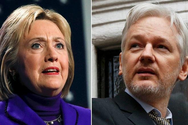 Στο στόχαστρο των Wikileaks ξανά η Kλίντον