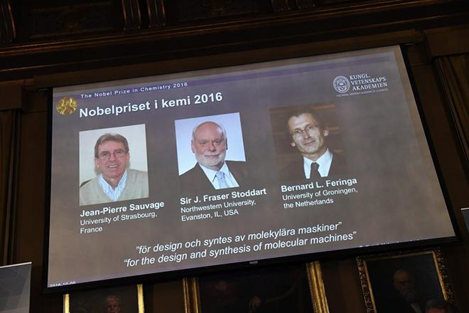 Σε τρεις ερευνητές το φετινό Νόμπελ Χημείας