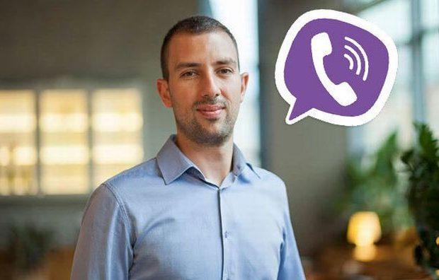 O Atanas Raykov, Υπεύθυνος Διεθνών Συνεργασιών για τις τηλεπικοινωνίες & Γενικός Διευθυντής για την Ανατολική και Κεντρική Ευρώπη της Viber.