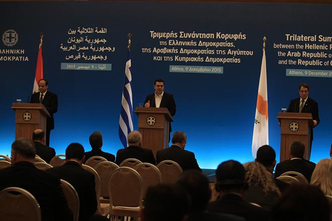 Η ατζέντα της 4ης Συνόδου Ελλάδας – Αιγύπτου – Κύπρου