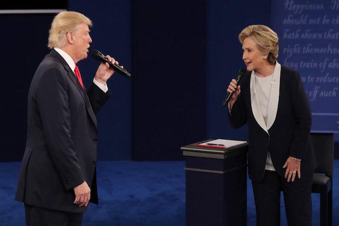 Στο «ρίνγκ» ξανά Κλίντον και Τραμπ – Όσα έγιναν στην δεύτερη τηλεμαχία