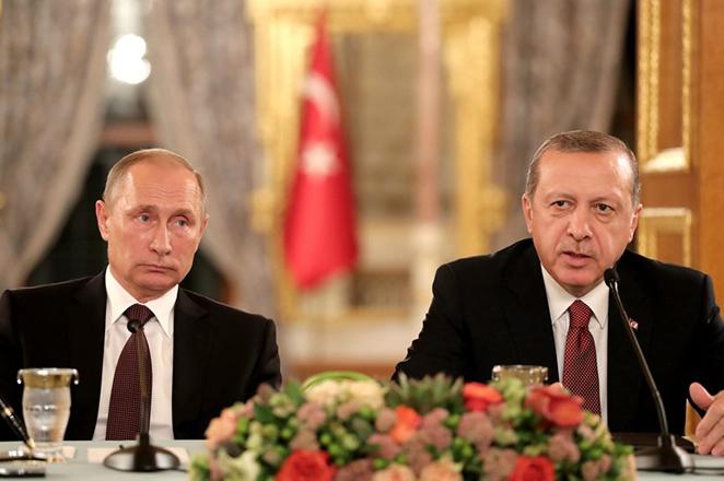 Ο αγωγός Turkstream φέρνει Πούτιν και Ερντογάν πιο κοντά