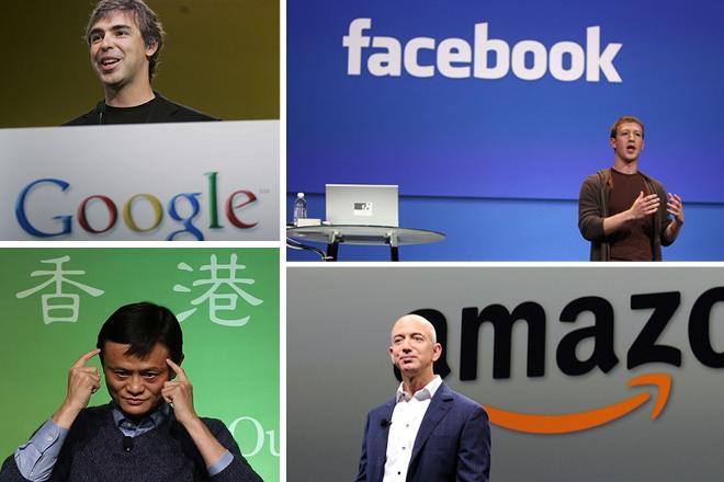 Οι πλουσιότεροι ηγέτες της τεχνολογίας σήμερα
