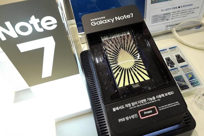 Τι κάνει η Samsung με τα Note 7 που επιστρέφονται