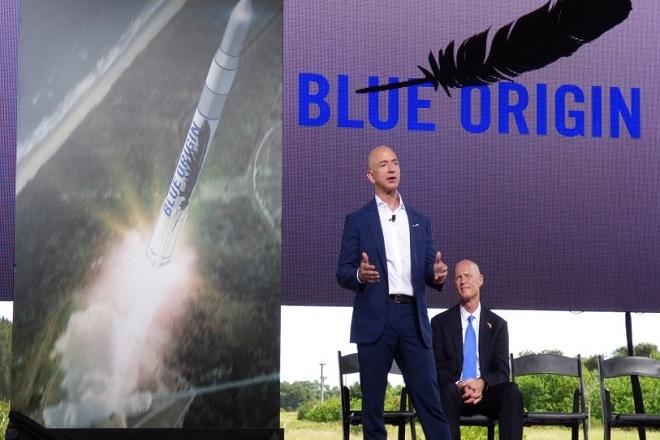 Έτοιμη για το διάστημα η Blue Origin του Τζεφ Μπέζος