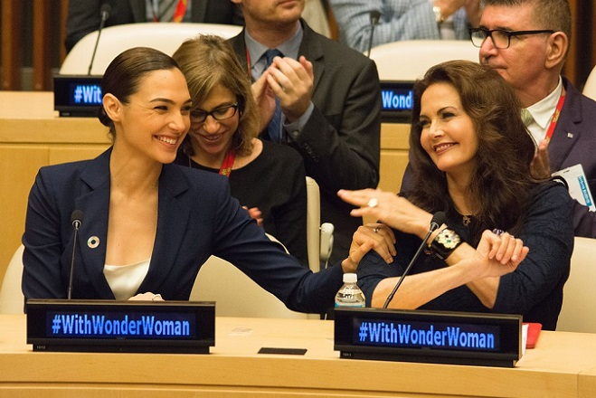 Πρέσβειρα του ΟΗΕ η…Wonder Woman