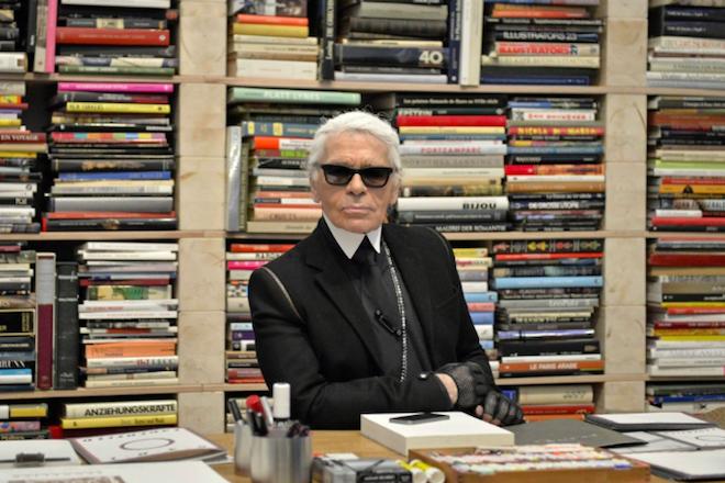 O Karl Lagerfeld… ξενοδόχος