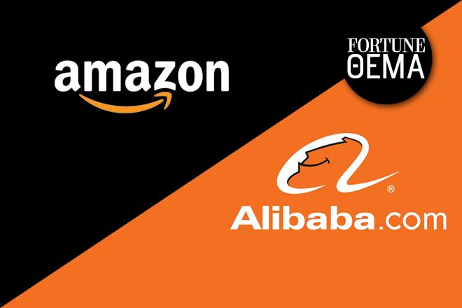 Όλη η αλήθεια για τα σχέδια της Alibaba και της Amazon στην Ελλάδα