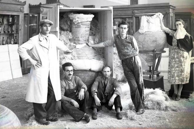 d26a0289f7 Όταν τα ελληνικά μουσεία έσωζαν τις αρχαιότητες από τους Ναζί ...