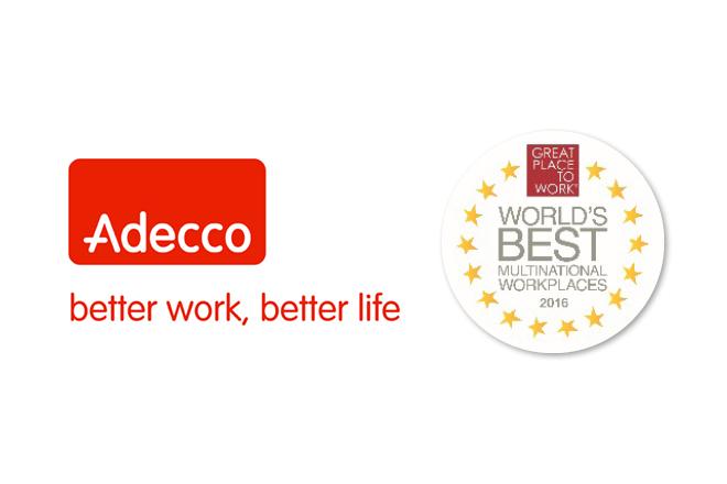 Όμιλος Adecco: Μια θέση ανάμεσα στις πολυεθνικές με το καλύτερο εργασιακό περιβάλλον