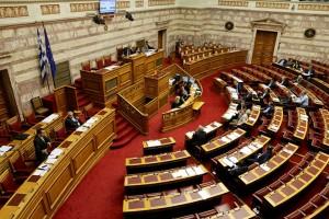 Ο υπουργός Επικρατείας Νίκος Παππάς μιλά στη συζήτηση τροπολογιών κατά τη συζήτηση και ψήφιση επί της αρχής, των άρθρων και του συνόλου του σχεδίου νόμου: «Κύρωση της Συμφωνίας μεταξύ της Κυβέρνησης της Ελληνικής Δημοκρατίας και της Κυβέρνησης της Κυπριακής Δημοκρατίας σχετικά με τη συνεργασία στους τομείς Έρευνας και Διάσωσης» , Πέμπτη 3 Νοεμβρίου 2016. ΑΠΕ-ΜΠΕ/ΑΠΕ-ΜΠΕ/Παντελής Σαίτας