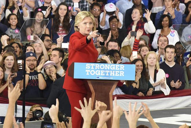 Χίλαρι Κλίντον: Πρώτη στις ψήφους αλλά ηττημένη