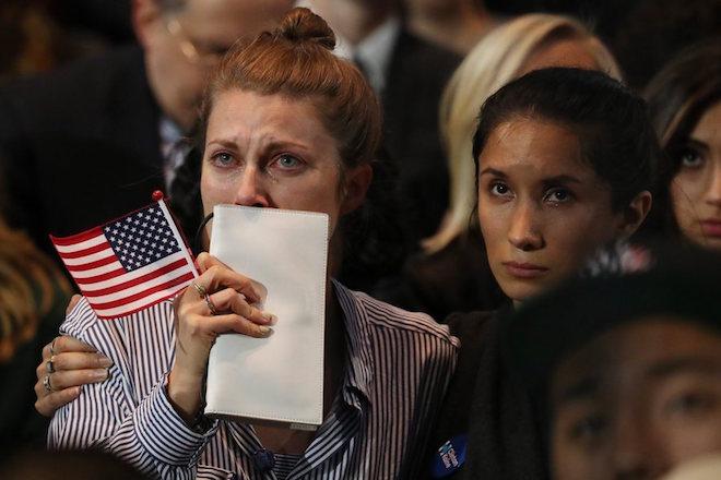 Οι πιο δυνατές στιγμές της βραδιάς των Αμερικανικών εκλογών