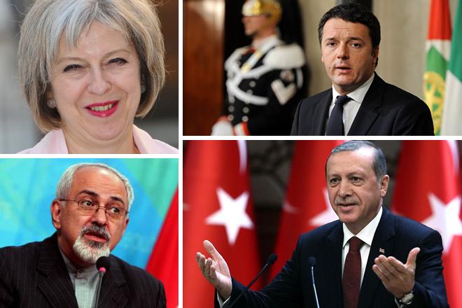 Οι πολιτικοί σε όλο το κόσμο παίρνουν θέση για το αποτέλεσμα των αμερικανικών εκλογών