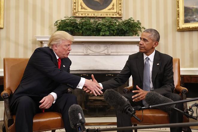 Η πρώτη του Τραμπ στον Λευκό Οίκο