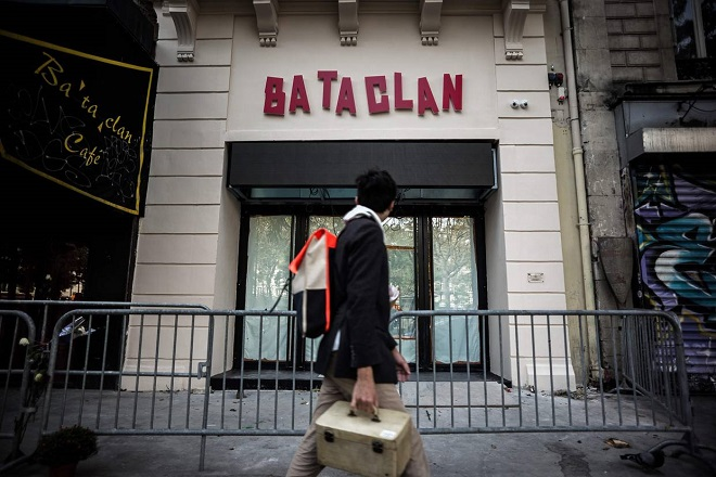 Μπατακλάν: Τιμά την πρώτη επέτειο των επιθέσεων της 13ης Νοεμβρίου