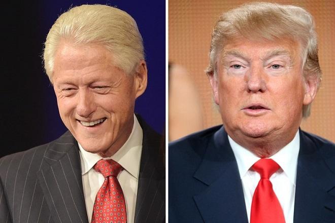 Ο Τραμπ συνεχίζει να εκπλήσσει: Τώρα σκέπτεται να ζητήσει συμβουλές από τον Μπιλ Κλίντον